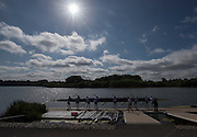 Caversham, England, The GBR W8+. Leaving the water. 2015 GBRowing World Championship Team Announcement. Tuesday. 21.07.2015.  At the Reading Training Base. [Mandatory Credit. Peter SPURRIER/Intersport Images]