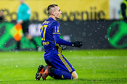 Jasmin Mesanovic of NK Maribor during football match between NK Maribor and NK Olimpija Ljubljana in 2nd leg match in Quaterfinal of Slovenian cup 2017/2018, on November 29, 2017 in Ljudski vrt, Maribor, Slovenia. Photo by Ziga Zupan / Sportida