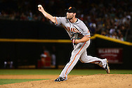 PHOENIX, AZ - MAY 14:  Hunter Strickland #60 of the San Francisco Giants delivers a pitch during the eighth inning against the Arizona Diamondbacks at Chase Field on May 14, 2016 in Phoenix, Arizona.  (Photo by Jennifer Stewart/Getty Images)