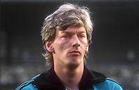 Alan Campbell, professional footballer, Queen's Park Rangers & N Ireland, April, 1986, 19860410AMD1<br /> <br /> Copyright Image from Victor Patterson, 54 Dorchester Park, <br /> Belfast, UK, BT9 6RJ<br /> <br /> t1: +44 28 9066 1296 (from Rep of Ireland 048 9066 1296)<br /> t2: +44 28 9002 2446 (from Rep of Ireland 048 9002 2446)<br /> m: +44 7802 353836<br /> <br /> e1: victorpatterson@me.com<br /> e2: victorpatterson@gmail.com<br /> <br /> www.victorpatterson.com<br /> <br /> Please see my Terms and Conditions of Use at VICTORPATTERSON.COM. It is IMPORTANT that you familiarise yourself with them.<br /> <br /> Images used on the Internet must be visibly watermarked i.e. ©VICTORPATTERSON.COM within the body of the image and copyright metadata must not be deleted. Images used on the Internet have a size restriction of 4kbs and are chargeable at the then current NUJ rates.<br /> <br /> This image is only available for the use of the download recipient i.e. television station, newspaper, magazine, book publisher, etc, and must not be passed on to any third party. It is also downloaded on condition that each and every usage is notified within 7 days to victorpatterson@me.com<br /> <br /> The right of Victor Patterson to be identified as the author is asserted in accordance with The Copyright Designs And Patents Act (1988).