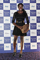 LONDON - SEPTEMBER 05: Christine Ohuruogu attended the Paralympic Ball 2012, Grosvenor House Hotel, London, UK. September 05, 2012. (Photo by Richard Goldschmidt)