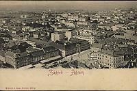 Zagreb = Agram. <br /> <br /> ImpresumDresden : Römmler & Jonas, [1904].<br /> Materijalni opis1 razglednica : tisak ; 9,1 x 14 cm.<br /> NakladnikRömmler & Jonas<br /> Mjesto izdavanjaDresden (Njemačka)<br /> Vrstarazglednice<br /> ZbirkaGrafička zbirka NSK • Zbirka razglednica<br /> ProjektPozdrav iz Hrvatske<br /> Formatimage/jpeg<br /> PredmetPanoramska fotografija<br /> PredmetZagreb<br /> Jezikhrvatski<br /> SignaturaRZG-PAN-17<br /> Obuhvat(vremenski)20. stoljeće<br /> NapomenaRazglednica nije putovala.<br /> PravaJavno dobro<br /> Identifikatori000925470<br /> NBN.HRNBN: urn:nbn:hr:238:676047 <br /> <br /> Izvor: Digitalne zbirke Nacionalne i sveučilišne knjižnice u Zagrebu