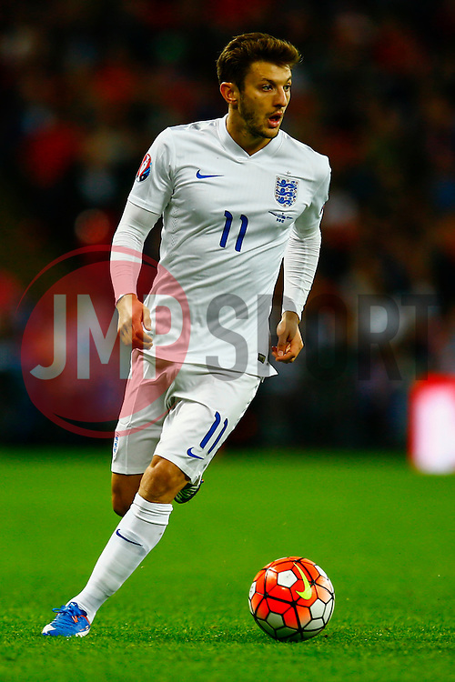 Adam Lallana of England - Mandatory byline: Jason Brown/JMP - 07966 386802 - 09/10/2015- FOOTBALL - Wembley Stadium - London, England - England v Estonia - Euro 2016 Qualifying - Group E