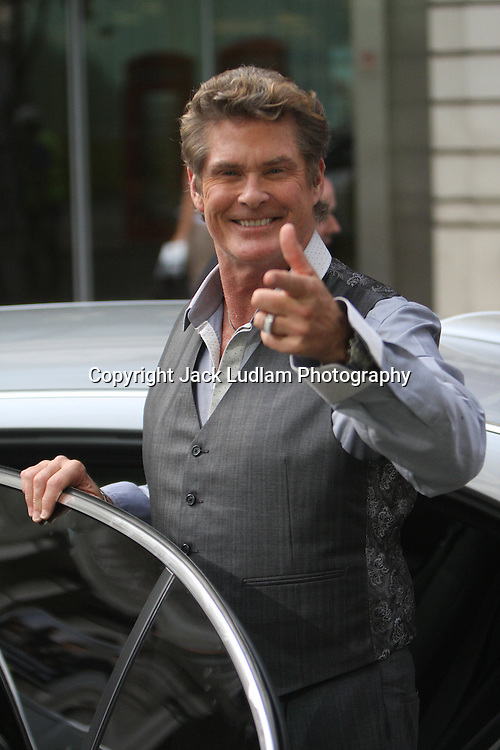 David Hasselhoff Suited in London