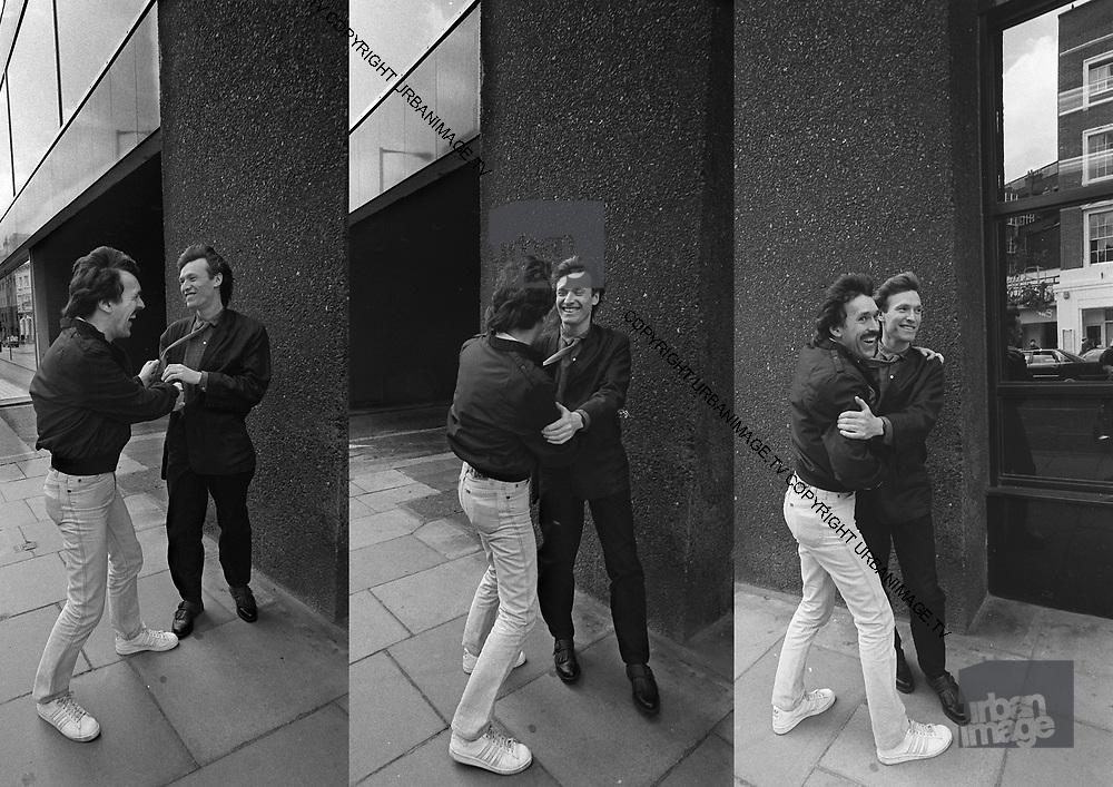 Steve and Muff Winwood - London 1982