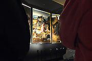 Nederland, the Netherlands, Den Bosch, 25-3-2016In het Brabants Museum hangt een tentoonstelling van de middeleeuwse schilder Jeroen Bosch. Hieronimus Bosch , Dit jaar is het Bosch-jaar.  het is de grootste collectie schilderijen van de kunstenaar die ooit bij elkaar gebracht is. De belangstelling van het publiek is zo groot dat de expositie uitverkocht is . Veel tentoonstellingen buiten de Randstad trekken veel bezoekers .FOTO: FLIP FRANSSEN/ HH