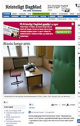 Kristeligt Dagblat; Stasi Prison in Berlin
