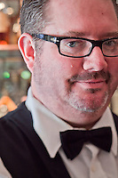 Bouchon Bar Tender, Chris Kennedy, Yountville, California