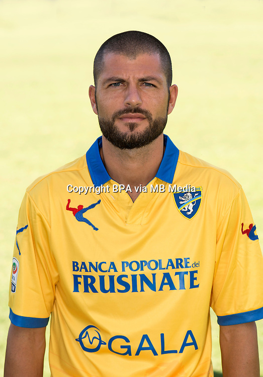 Italian League Serie A -2015-2016 / <br /> ( Frosinone Calcio ) - <br /> Damiano Zanon