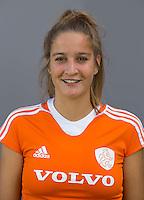 UTRECHT -  Tess van Raamshorst. Jong Oranje meisjes -21 voor EK 2014 in Belgie (Waterloo). COPYRIGHT KOEN SUYK