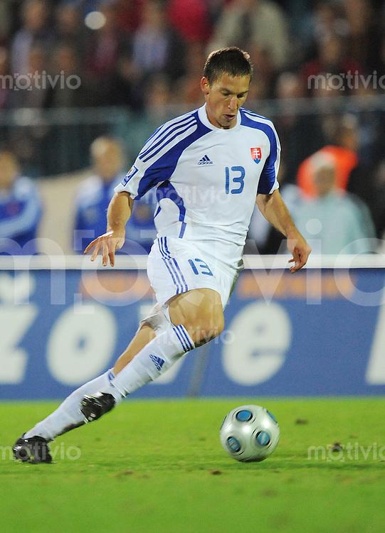 Fussball International   WM  2010  Qualifikation  Gruppe 3    05.09.2009 Slowakei - Tschechien  Filip HOLOSKO (SVK)