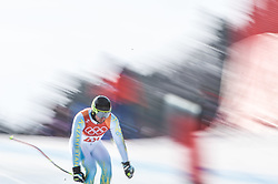 February 15, 2018 - Jeongseon, Gangwon, South Korea - Igor Zakurdaev of  Kazakhstan competing in mens downhill at Jeongseon Alpine Centre at Jeongseon , South Korea on February 15, 2018. (Credit Image: © Ulrik Pedersen/NurPhoto via ZUMA Press)