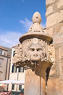 A carved lion fountain in Dubrovnik,<br /> Croatia<br /> c. Ellen Rooney