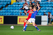 Carlisle United defender Tom Miller (#23) during the EFL Sky Bet League 2 match between Carlisle United and Leyton Orient at Brunton Park, Carlisle, England on 10 September 2016. Photo by Craig Doyle.