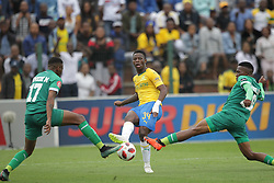 16092018(Durban) Goal scores Phakamani Mahlambi at a match were AmaZulu FC targeted an upset win over Mamelodi Sundowns when the teams meet at King Zwelithini Stadium on 16 September 2018<br /> Picture: Motshwrai Mofokeng/African News Agency (ANA)