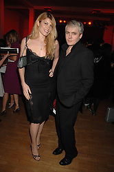 NICK RHODES and MEREDITH OSTROM at the Art Plus Drama party Held at the Whitechapel Art Gallery, London E1 on 8th March 2007. <br />
