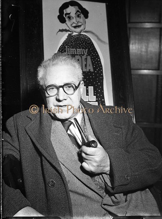 H O'Donovan at The Gaiety Pantomime.17/12/1952