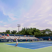 August 21, 2016, New Haven, Connecticut: <br /> Fans take in the action on Grandstand during Day 3 of the 2016 Connecticut Open at the Yale University Tennis Center on Sunday, August  21, 2016 in New Haven, Connecticut. <br /> (Photo by Billie Weiss/Connecticut Open)