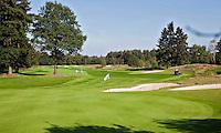 DEN DOLDER - Golfsocieteit De Lage Vuursche, hole 16. FOTO KOEN SUYK