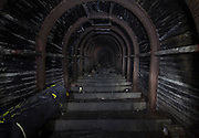 TUNNEL VISION Inside the UK's largest purpose-built WW2 bomb shelter where thousands of Brits sought refuge from Nazi attacks<br />