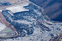 Aerial Photo Of The Coal Ash Spillover That Occurred On Monday December 22, 2008 At The Kingson Fossil Plant In Harriman Tennessee.