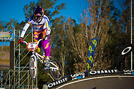 # 5 (PAJON Mariana) COL at the UCI BMX Supercross World Cup in Santiago del Estero, Argintina.