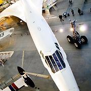 Air France Concord on display at the Smithsonian Air and Space Museum (Stephen F. Udvar-Hazy Center)