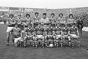 All Ireland Senior Football Championship Final, Dublin v Kerry, 26.09.1976, 09.26.1976, 26th September 1976, 26091976AISFCF, Dublin 3-08 Kerry 0-10, .Kerry, P O'Mahony, G O'Keeffe, J O'Keeffe (capt.), J Deenihan, P Ó?Sé, T Kennelly, G Power, P Lynch, P McCarthy, D ''Ogie'' Moran, M Sheehy, M O'Sullivan, B Lynch, J Egan, P Spillane, Subs C Nelligan for P O'Mahony, S Walsh for P McCarthy, G O'Driscoll for M O'Sullivan,