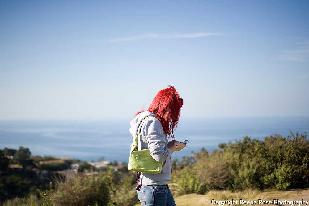 Red Hair, San Diego, California