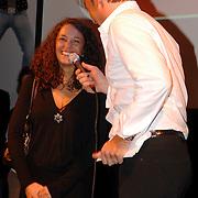 NLD/Amsterdam/20070301 - Perspresentatie So You wannabe a popstar, Fajah Lourens en Gerard Joling