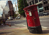 Royal Mail Collection Box - London, England, 2016