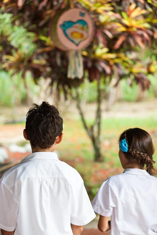 Carbonera School near Lapa Rios Ecolodge, Osa Peninsula, Costa Rica
