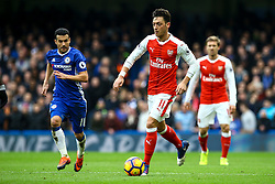 Mesut Ozil of Arsenal in action - Mandatory by-line: Jason Brown/JMP - 04/01/2017 - FOOTBALL - Stamford Bridge - London, England - Chelsea v Arsenal - Premier League