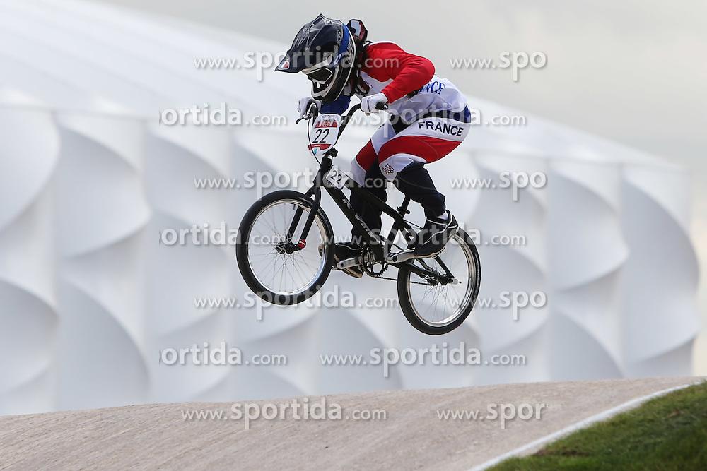 Olympics - London 2012 Olympic Games - BMX Track  - 8/8/12.Cycling - Bmx - Men's Seeding Run - le CORGUILLE Laetitia (FRA).© pixathlon