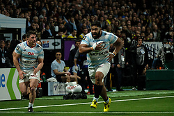 January 8, 2018 - Nanterre, Hauts de Seine, France - Racing Metro 92 Lock EDWIN MAKA in action during the French rugby championship Top 14 match between Racing Metro 92 and Clermont at U Arena Stadium in Nanterre - France.Racing won 58-6 (Credit Image: © Pierre Stevenin via ZUMA Wire)