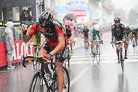 Victoire de Gilbert Philippe - BMC - 21.05.2015 - Etape 12 du Giro 2015<br />Photo : Sirotti / Icon Sport *** Local Caption ***