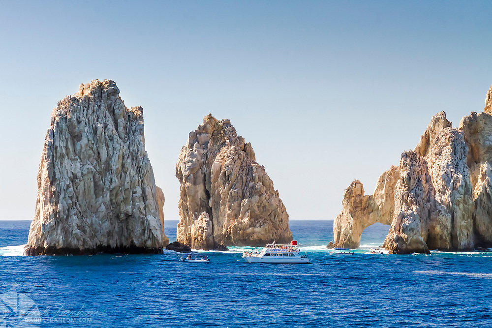 View of Arch of Cabo San Lucas, Mexico,