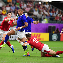 Gael FICKOU of France during the Rugby World Cup 2019 Quarter Final match between Wales and France on October 20, 2019 in Oita, Japan. (Photo by Dave Winter/Icon Sport) - Oita Stadium - Oita (Japon)