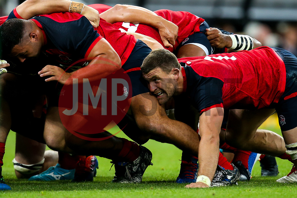 Mark Wilson of England in the scrum - Mandatory by-line: Robbie Stephenson/JMP - 06/09/2019 - RUGBY - St James's Park - Newcastle, England - England v Italy - Quilter Internationals