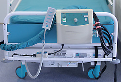 EMBARGOED TO 0001 MONDAY APRIL 15 File photo dated 15/08/14 of a hospital bed. A digital portal which helps NHS hospitals find care home places for patients is to be rolled out across England in a bid to cut unnecessary delays.