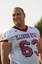 """16 August 2004   Offensive Lineman Matt Pezdek    """"Meet the Redbirds"""" evening at Illinois State University, Normal IL"""