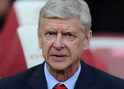 Arsenal Manager, Arsene Wenger  - Mandatory by-line: Joe Meredith/JMP - 25/07/2015 - SPORT - FOOTBALL - London,England - Emirates Stadium - Arsenal v Lyon - Emirates Cup