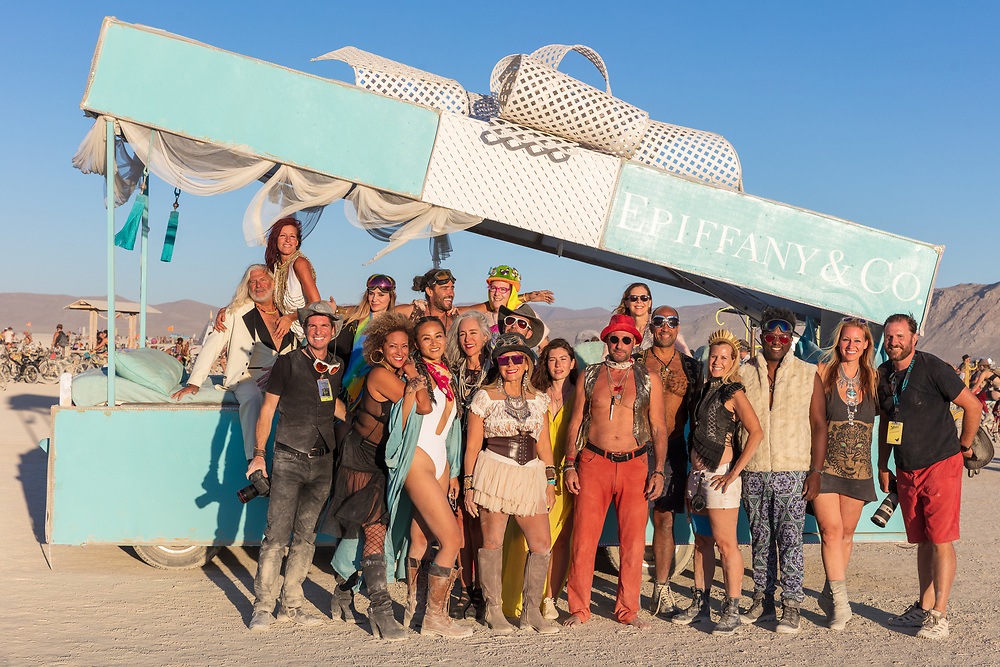 Wonderful campmates. Thank you for making Burning Man amazing.