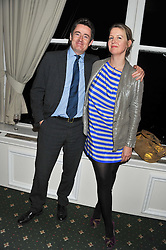 TOM NAYLOR and ADELAIDE DUGDALE at a dinner in aid of the charity Save The Rhino held at ZSL London Zoo, Regents Park, London NW1 on 16th November 2011.