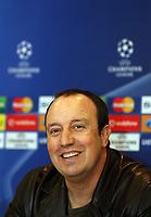 Photo: Paul Thomas.<br /> Liverpool Press Conference. UEFA Champions League. 21/11/2006.<br /> <br /> Rafael Benitez.