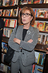 ZOE WANAMAKER at a party to celebrate the publication of Stanley Johnson's new book 'Where The Wild Things Were' held at Daunt Books, 83 Marylebone High Street, <br /> London W1 on 18th July 2012.