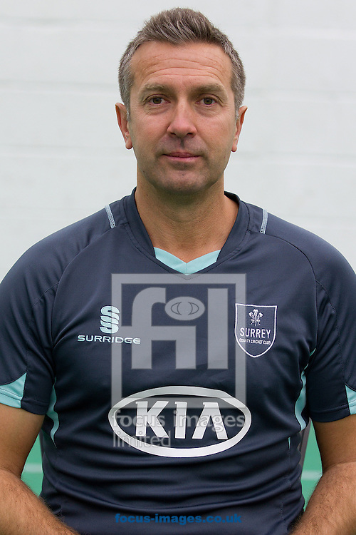Picture by Paul Terry/Focus Images Ltd +44 7545 642257.12/04/2013.Ian Salisbury, First Team Coach pictured during Surrey County Cricket Club media day at the Kia Oval, London.