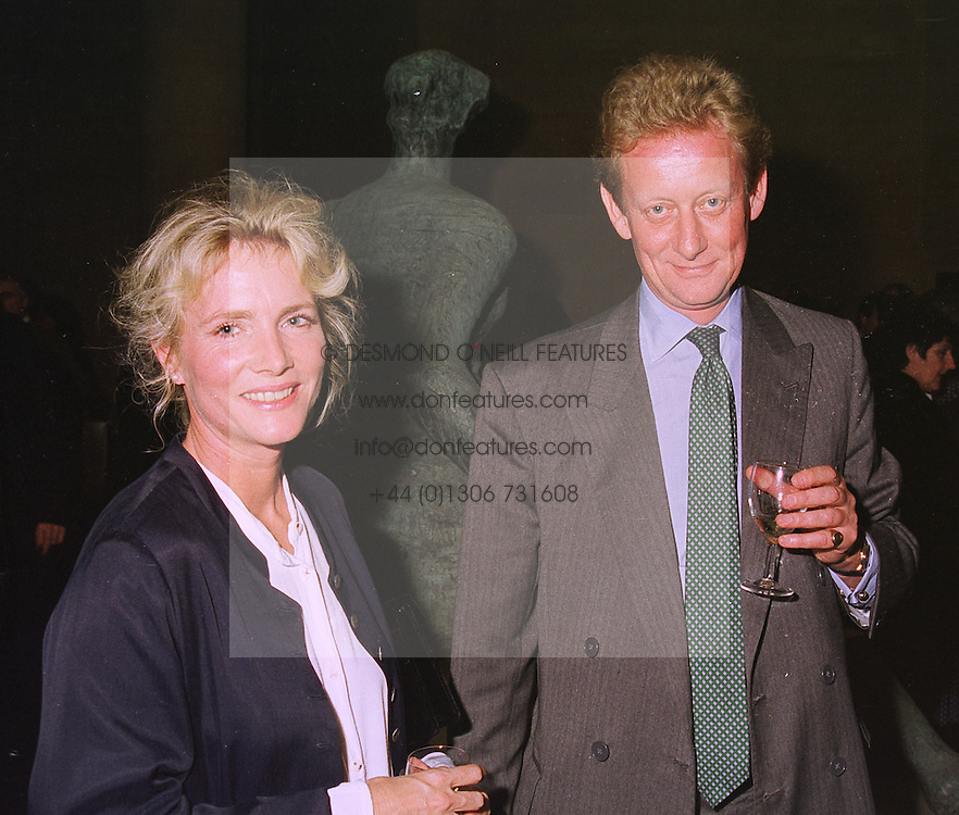 MR & MRS DAVID VEREY he is chairman of bankers Lazard Brothers, at a party in London on 24th September 1998.MKG 65