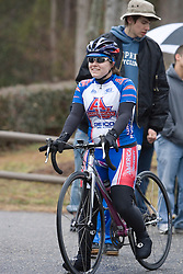 American University Eagles Nikki Anderson<br /> <br /> The College of William and Mary road race was held near Williamsburg, VA on February 25, 2007.