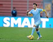 Udine, 15 febbraio 2015<br /> Serie A 2014/15. 23^ giornata.<br /> Stadio Friuli.<br /> Udinese vs Lazio<br /> Nella foto: il difensore della Lazio Stefan Daniel Radu.<br /> © foto di Simone Ferraro